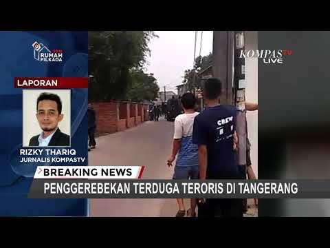 Polisi Gerebek Rumah Terduga Teroris di Tangerang