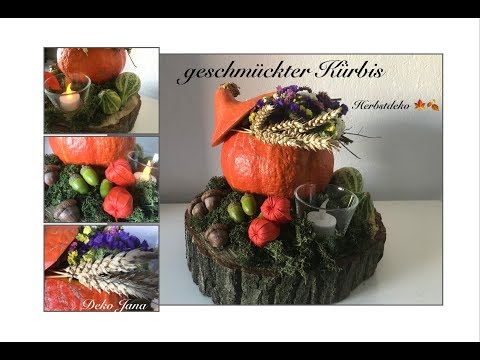 DIY: Herbstdeko 🍁,