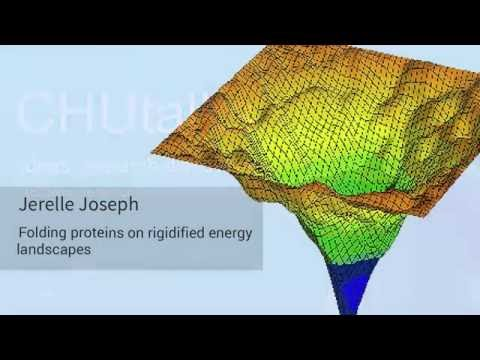 Jerelle Joseph: Folding proteins on rigidified energy landscapes
