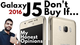 Samsung Galaxy J5 2016 Don 39 t Buy My Honest Opinions Not a Review