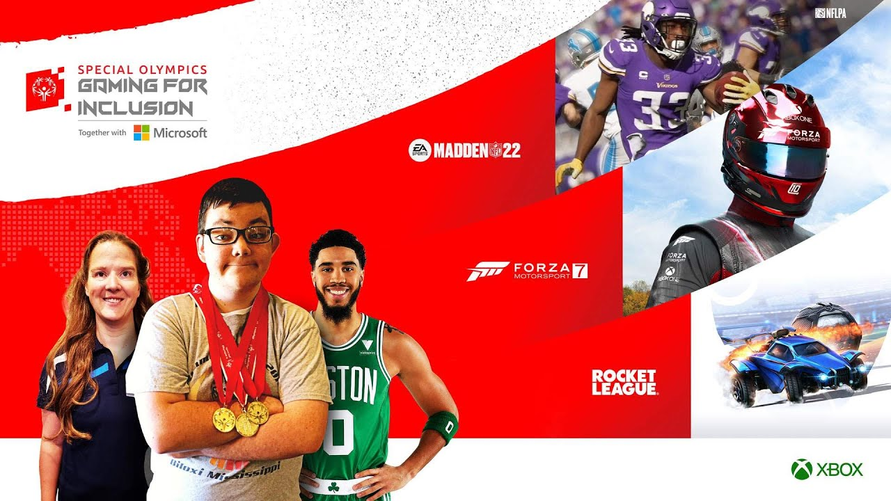 Download Celebrity Showcase [AD] - Special Olympics Gaming For Inclusion 2021