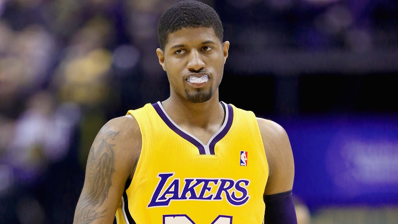 WATCH: Paul George awkwardly talks about Lakers rumors and working out with Kobe