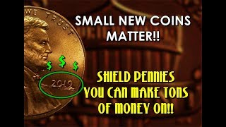 Don't Overlook These Valuable Shield Penny Errors!!  Surprising Sell Prices!!