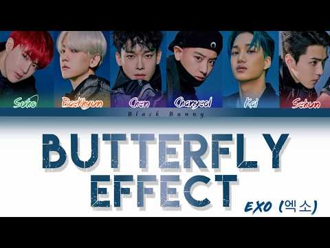 EXO (엑소) - Butterfly Effect (Color Coded Lyrics Han/Rom/Eng/가사)