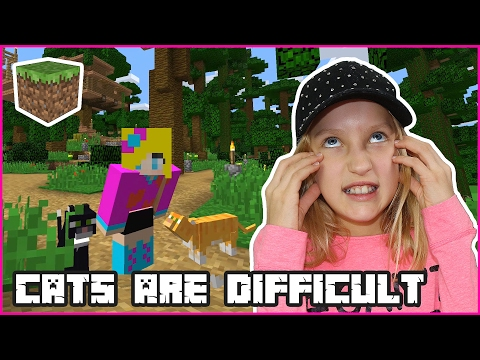 Cats are Difficult! / Minecraft Realm