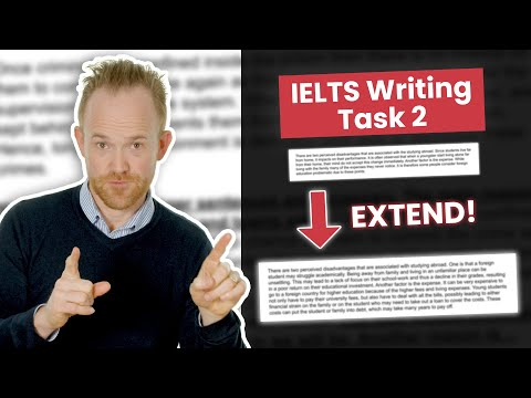 Download How to Extend Ideas in IELTS Writing Task 2