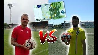 PARIU PE 100EUR CU DENIS ALIBEC! (Cine a castigat banii) Executie Fotbal