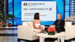 kim kardashian on kanye wests return to twitter