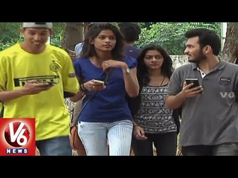 Smart Phone Craze | People Shows Interest To Buy Smart Phones | Hyderabad | V6 News