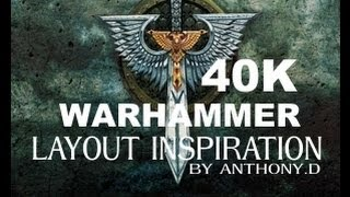 Warhammer 40k / Board Layout And Painting Ideas