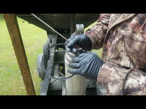 How to rebuild or repack a dump truck cylinder Ram