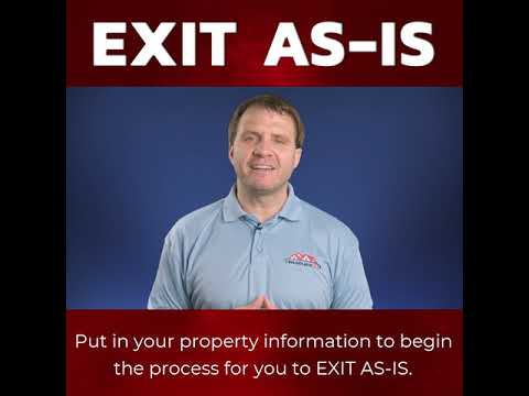 Exit As-Is Website Video