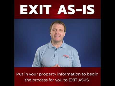 Exit As-Is Website Video