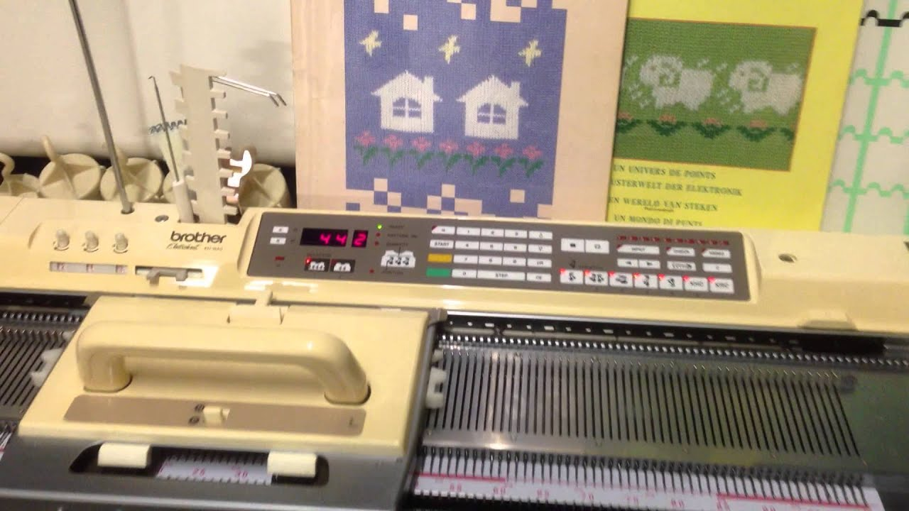 Knitting Machine For Sale In Ghana : Brother kh electroknit knitting machine with