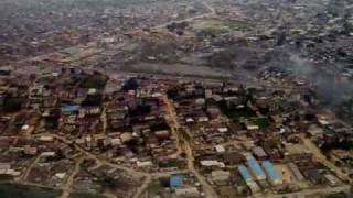Landing at Lagos, Nigeria - Murtala Muhammed International Airport