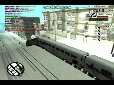 Bugged Train in SF!