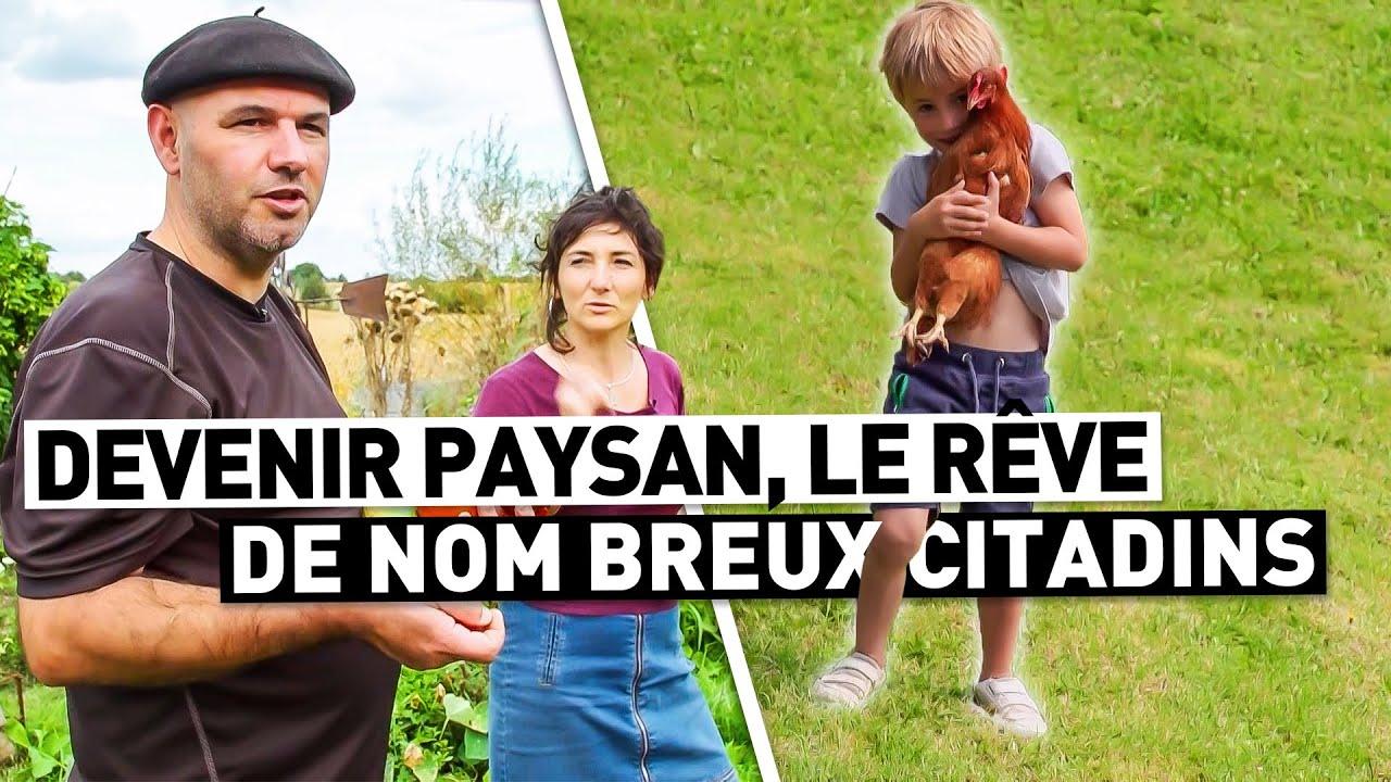 DEVENIR PAYSAN, LE RÊVE DE NOMBREUX CITADINS