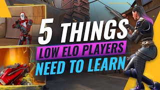 5 GAME-WINNING Tips & Techฑiques That Make A HUGE DIFFERENCE - Valorant