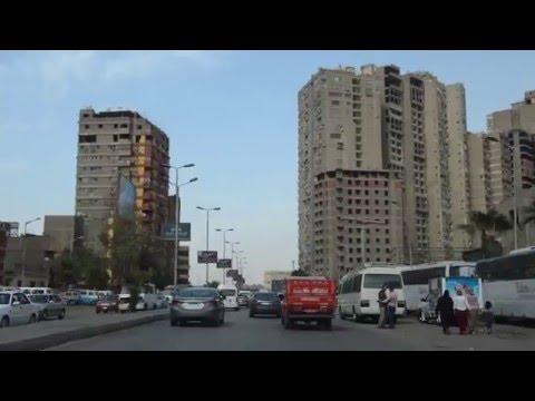Giza city by car.Part 2