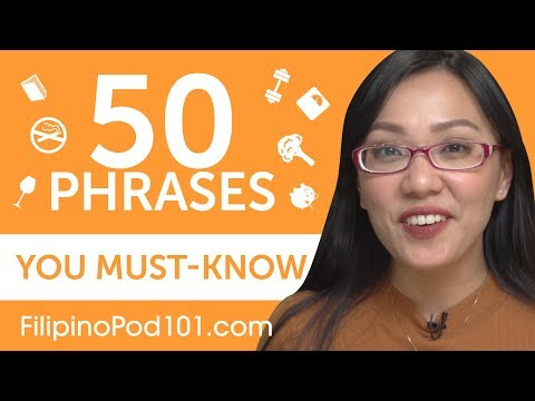 50 Phrases Every Filipino Beginner Must-Know