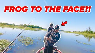 Did he get Hooked in the Face?! (Ft. Kickin Their Bass Tv)