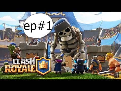 Clash Royale ep#1 (Scuze ca sunt in arena 5)