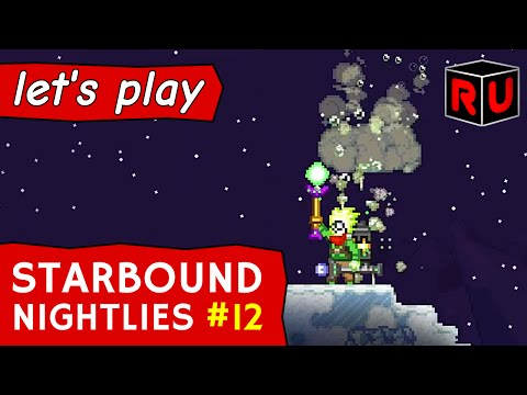 Starbound 1.0 Preview: Magic Wands & Staff Weapons | Let's Play Starbound Nightly Builds Ep 12