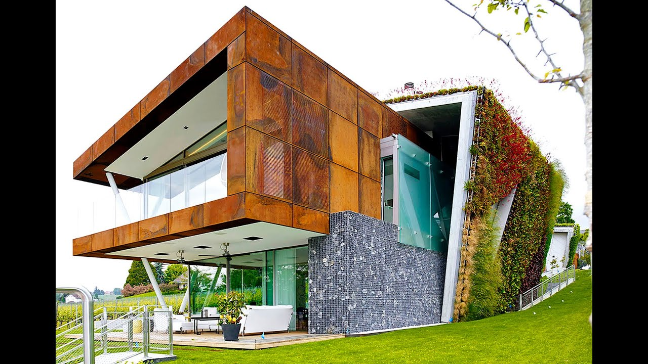 jewel box villa takes energy-efficient green homes to a hip new