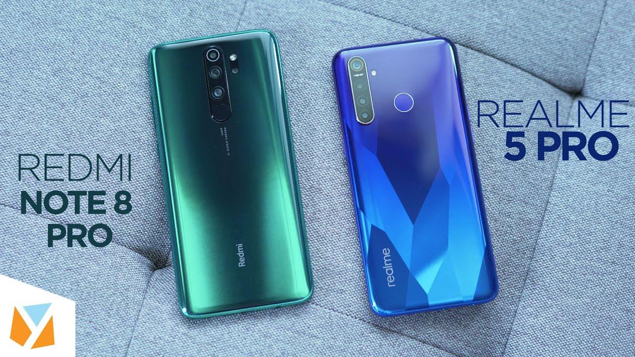 Realme 5 Pro Vs Redmi Note 8 Pro Comparison Review Youtube