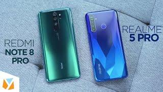 Realme 5 Pro vs Redmi Note 8 Pro Comparison Review