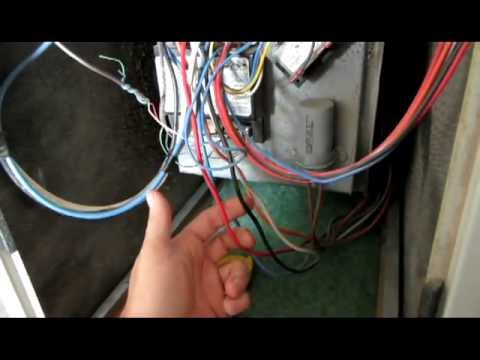 Furnace control board change out