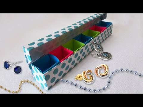 DIY Paper Crafts : Origami Jewelery Box Tutorial | Cool DIY Projects