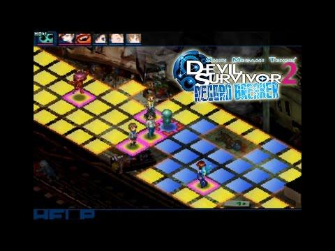 Citra Emulator (CPU JIT) - Shin Megami Tensei: Devil Survivor 2 - Break Record [1080p] Nintendo 3DS - 동영상