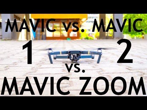 Mavic 1 vs. Mavic 2 Pro vs. Zoom: Best Drone To Buy Still?