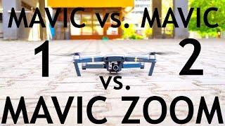 Mavic 1 vs. Mavic 2 Pro vs. Zoom: Best Drone To Buy Still