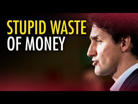 Trudeau wastes $280K studying Canada's failing oil & gas sector