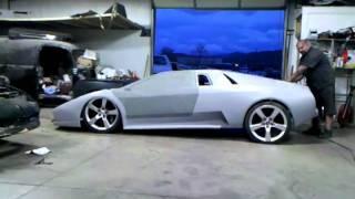 Lamborghini on air..