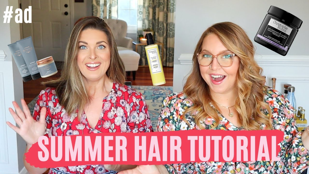 Summer Hair Tutorial || Grow Gorgeous & Christophe Robin