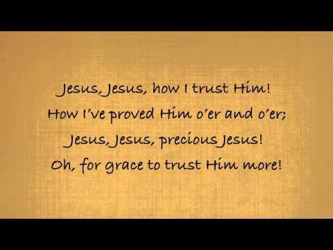 'Tis So Sweet to Trust in Jesus - Piano with Lyrics
