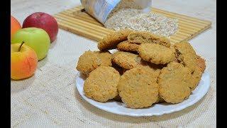 Рецепт вкусных овсяных печений