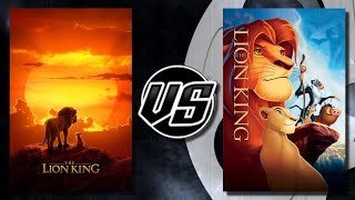 The Lion King (2019) VS The Lion King (1994)
