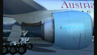 FS2004 HD -  Austrian Airlines 777-200
