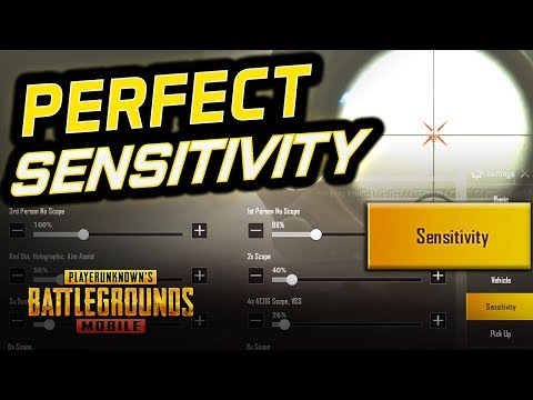 HIGHLY REQUESTED 'PERFECT' SENSITIVITY TIPS - PUBG Mobile