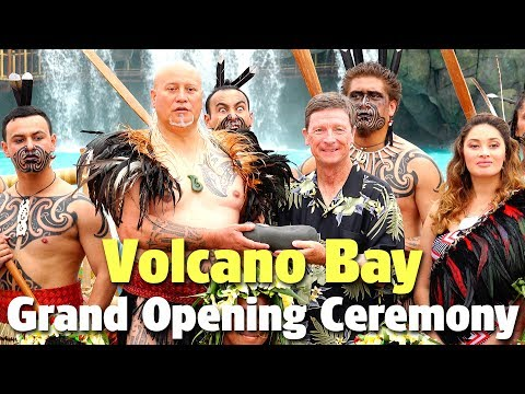 Volcano Bay Grand Opening Ceremony | Universal Orlando Resort