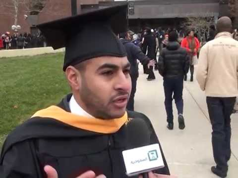 Ibraheem 21122014 Student Graduation ceremony in the US