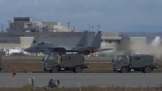 RJCJ 千歳基地 第2航空団F-15 Take-off  2018.11.2
