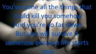Life Starts Now-Three Days Grace lyrics