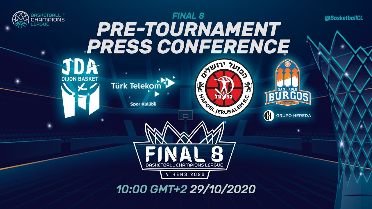 Pre-Tournament Press Conference I Tuesday - Final 8 2020 - Basketball Champions League 2019