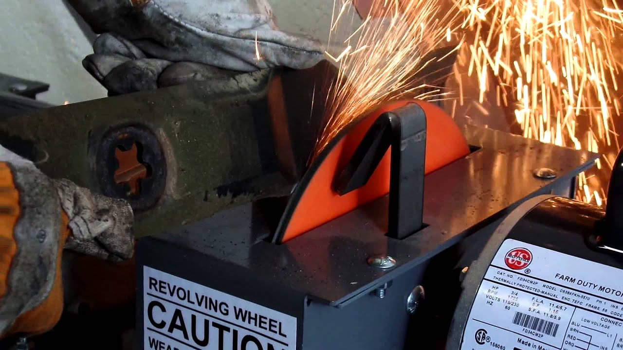 Rbg 934 9 Quot Lawn Mower Bench Blade Grinder Youtube