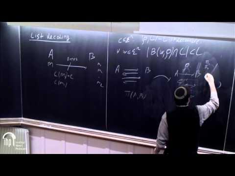 Nexus trimester - Klim Efremenko (Tel-Aviv University) 1/2